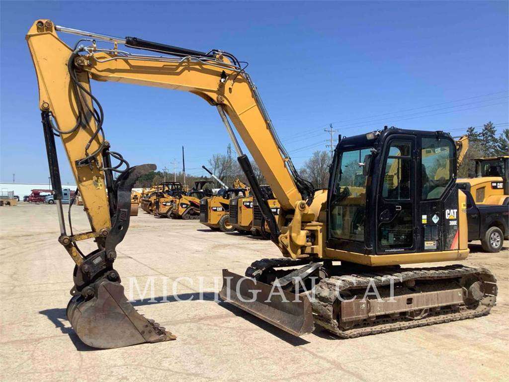 Caterpillar 308ECRSB, Crawler Excavators, Construction