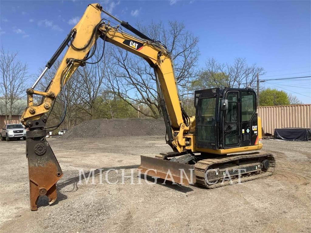 Caterpillar 308ECRSB、履带挖掘机、建筑设备