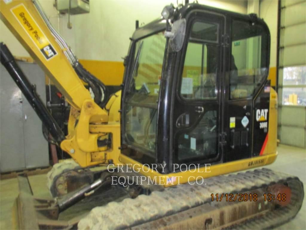 Caterpillar 308ECRSB, Excavatoare pe senile, Constructii
