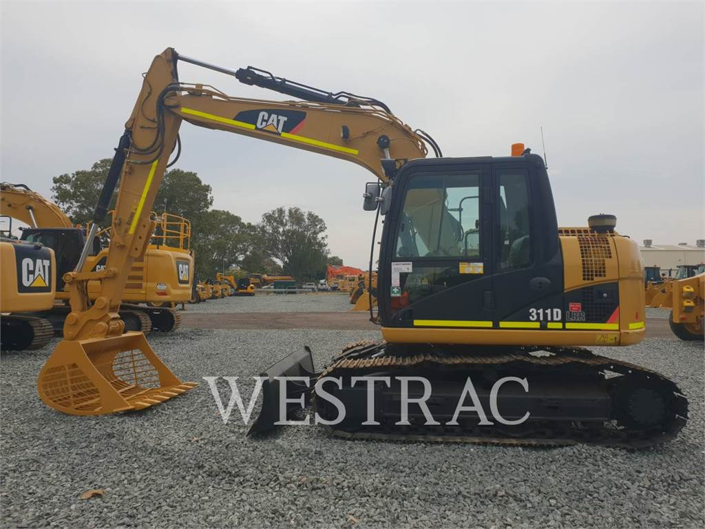 Caterpillar 311 D LRR, Crawler Excavators, Construction