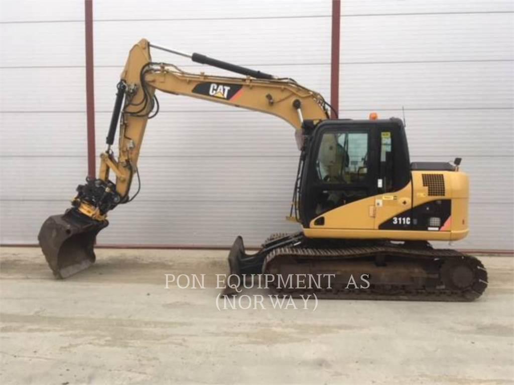 Caterpillar 311C、履带挖掘机、建筑设备