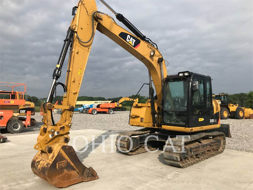 Caterpillar 311DLRR, Crawler Excavators, Construction