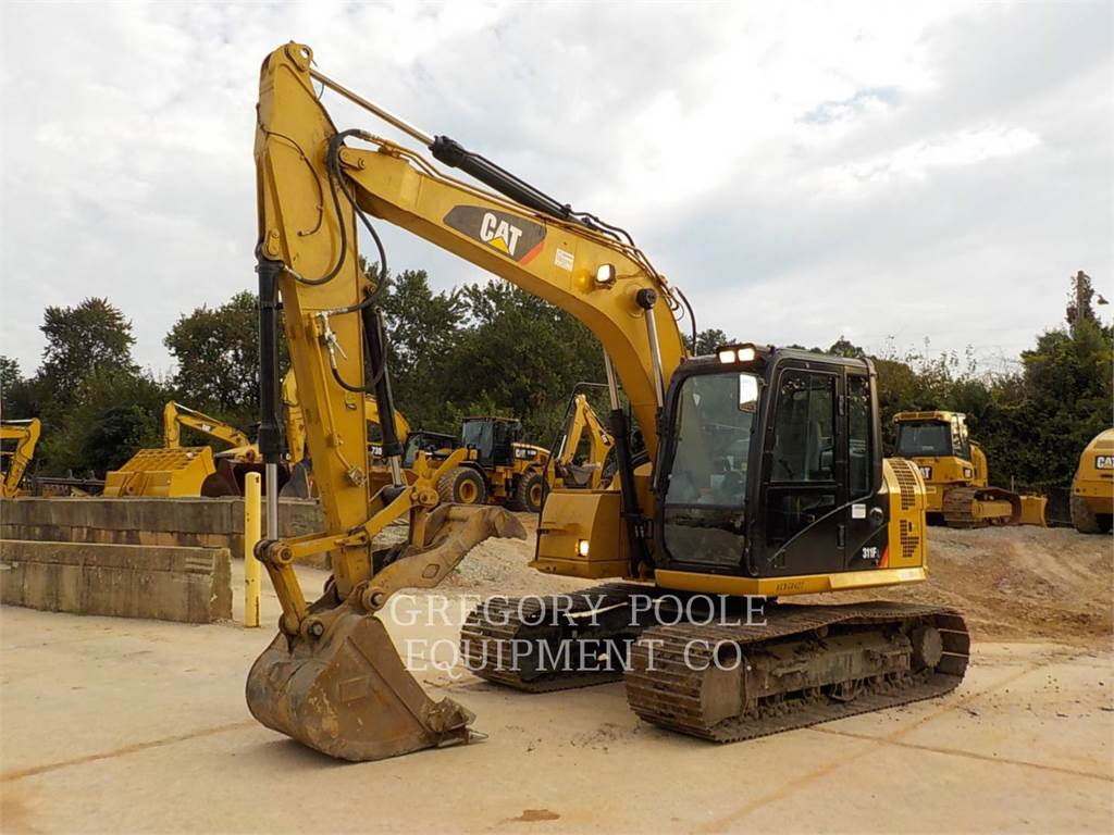 Caterpillar 311F L RR, Crawler Excavators, Construction