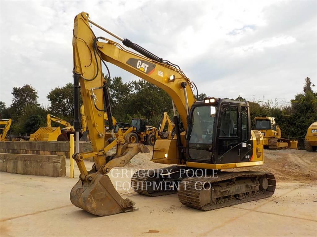 Caterpillar 311F L RR, Excavadoras de cadenas, Construcción