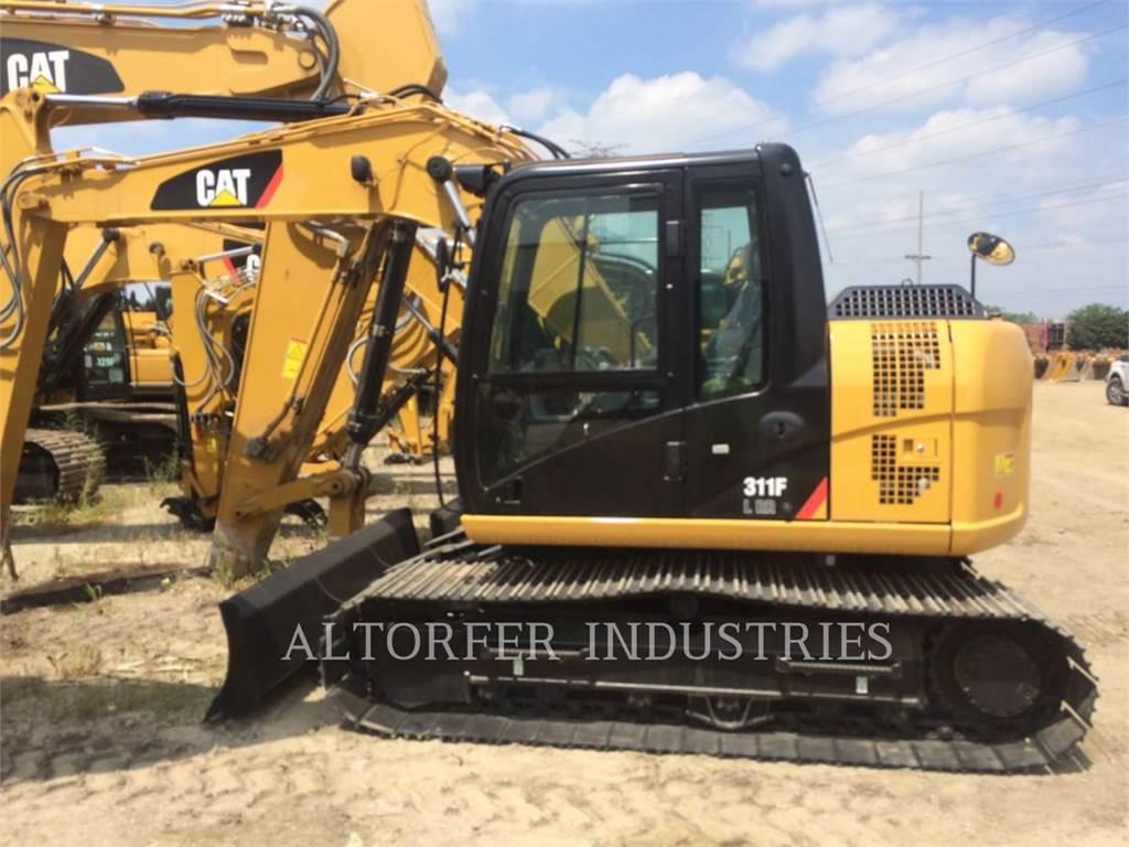 Caterpillar 311F RR, Excavadoras de cadenas, Construcción