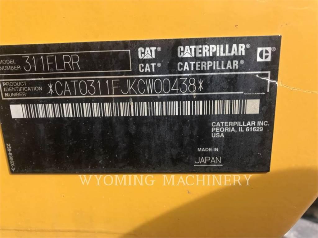 Caterpillar 311F RR, Crawler Excavators, Construction