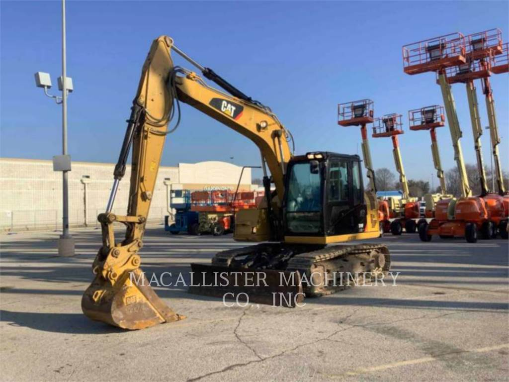 Caterpillar 311FLRR, Excavadoras de cadenas, Construcción