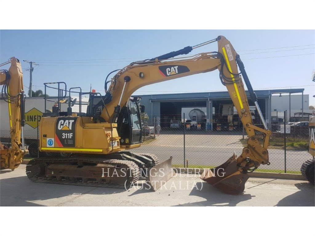 Caterpillar 311FLRR, Crawler Excavators, Construction