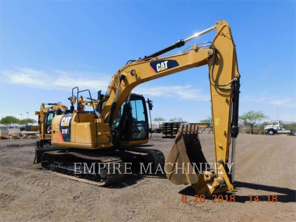Caterpillar 311FLRR, Crawler Excavators, Construction