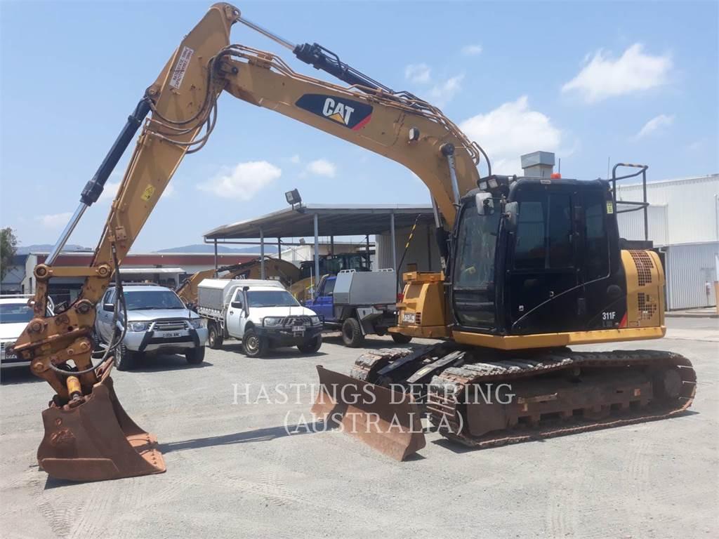 Caterpillar 311FLRR, Escavadoras de rastos, Equipamentos Construção