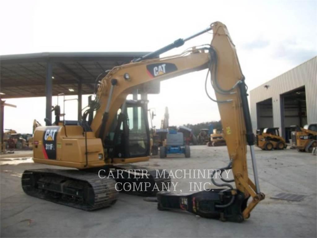 Caterpillar 311FRR CF, Crawler Excavators, Construction