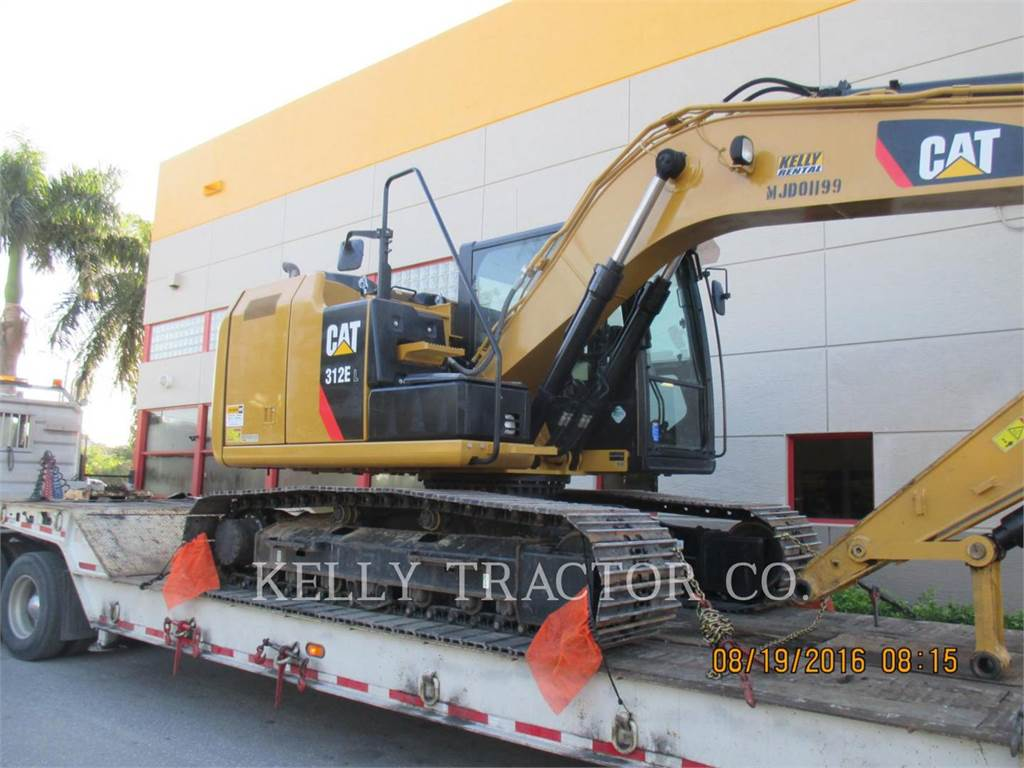 Caterpillar 312 E LC, Crawler Excavators, Construction