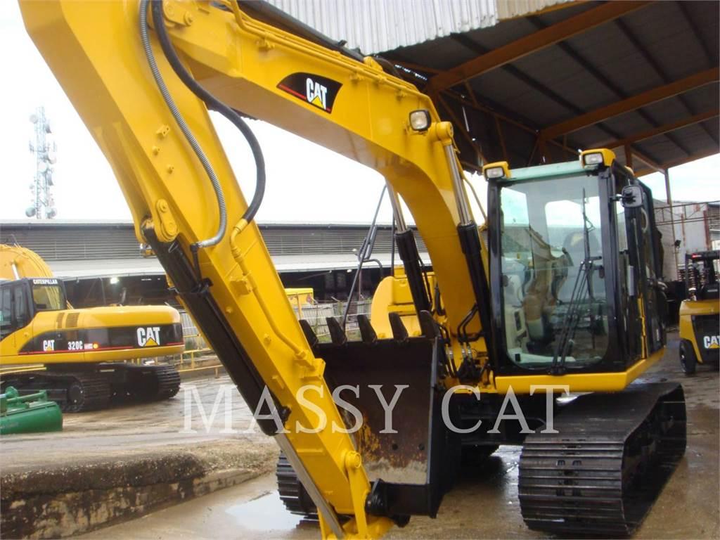 Caterpillar 312C, Crawler Excavators, Construction