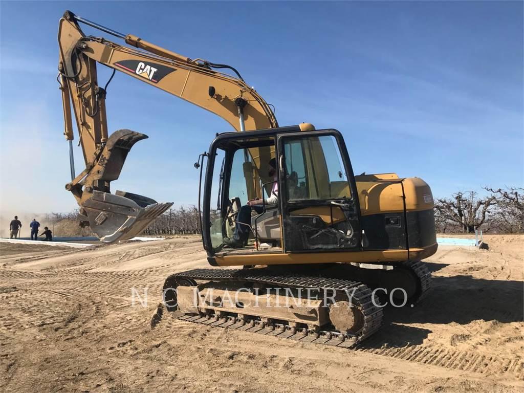 Caterpillar 312C, Excavadoras de cadenas, Construcción