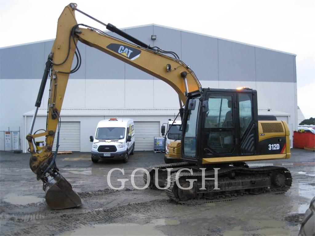 Caterpillar 312D, Crawler Excavators, Construction