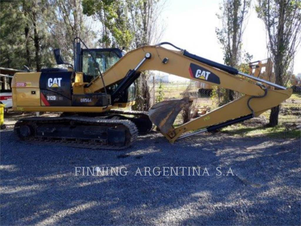 Caterpillar 312D2GC, Crawler Excavators, Construction