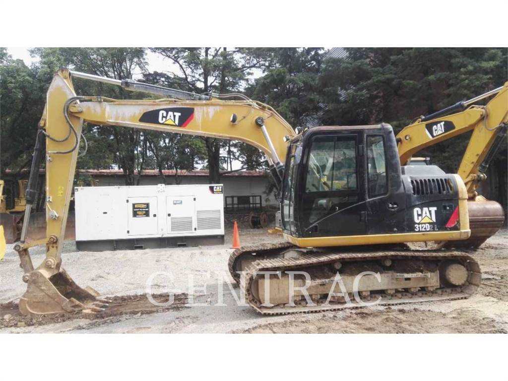 Caterpillar 312D2L, Excavadoras de cadenas, Construcción