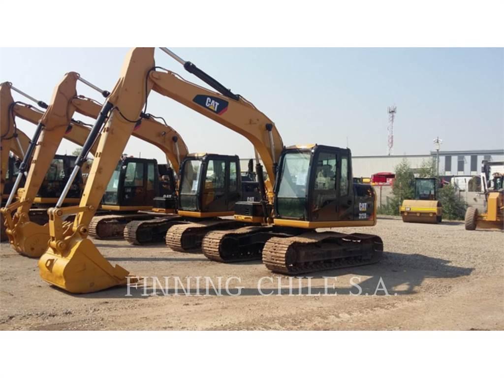 Caterpillar 312D2L、クローラー式油圧ショベル(パワーショベル・ユンボ)、建設