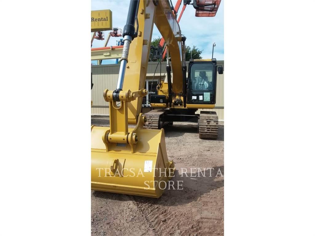 Caterpillar 312D2L, Excavatoare pe senile, Constructii