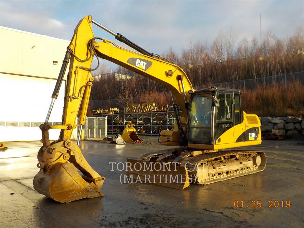 Caterpillar 312DL, Crawler Excavators, Construction