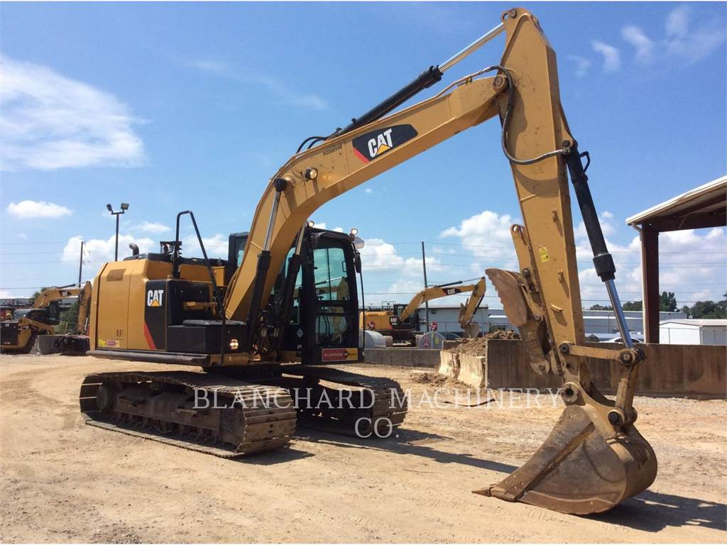 Caterpillar 312E, Crawler Excavators, Construction