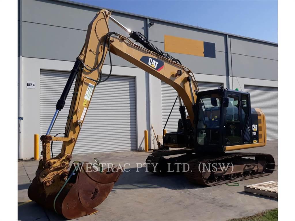 Caterpillar 312E, Raupenbagger, Bau-Und Bergbauausrüstung