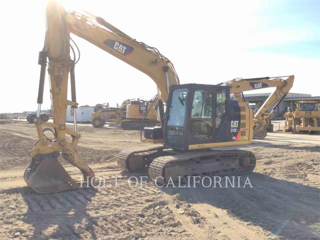 Caterpillar 312E, Escavadoras de rastos, Equipamentos Construção