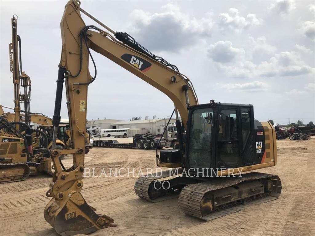 Caterpillar 312E, Excavatoare pe senile, Constructii