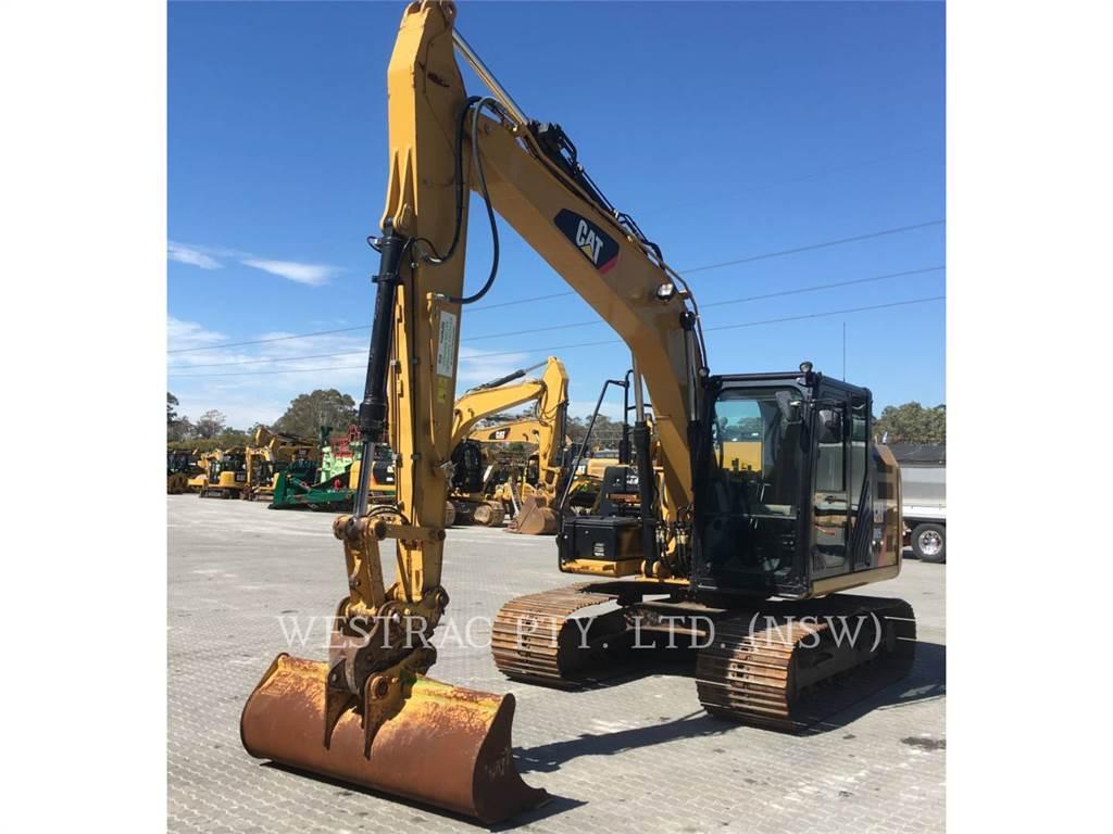 Caterpillar 312E、クローラー式油圧ショベル(パワーショベル・ユンボ)、建設