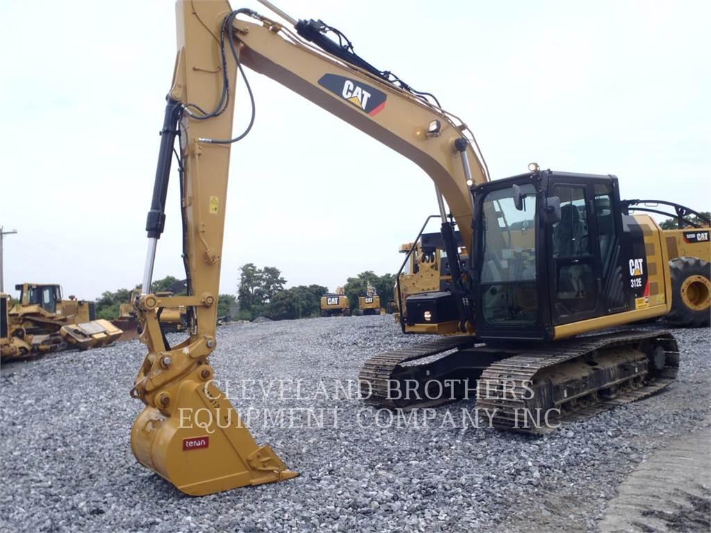 Caterpillar 312E, Excavadoras de cadenas, Construcción