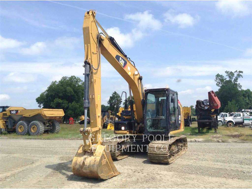 Caterpillar 312E L, Crawler Excavators, Construction