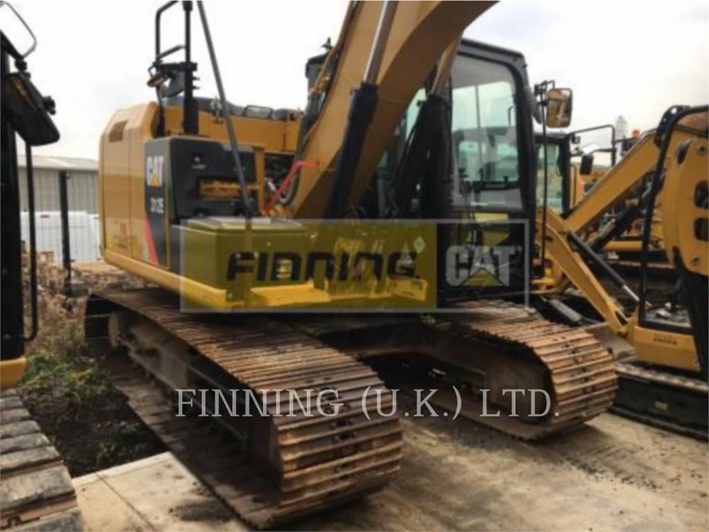 Caterpillar 312EGCHAM, Excavadoras de cadenas, Construcción