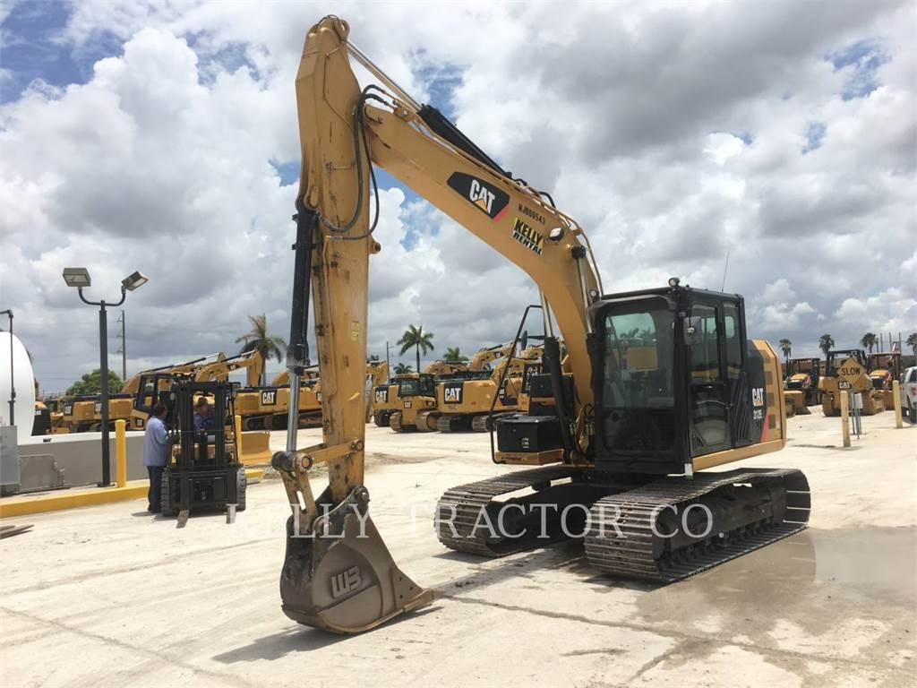 Caterpillar 312EL, Pelle sur chenilles, Équipement De Construction