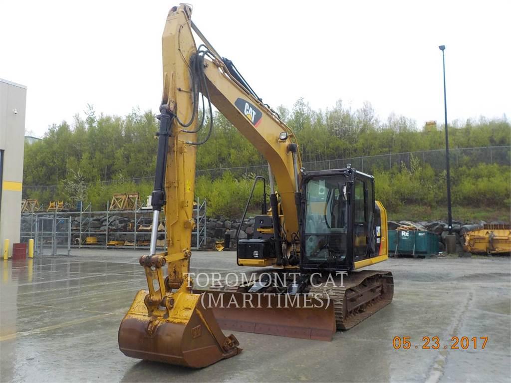 Caterpillar 312EL、クローラー式油圧ショベル(パワーショベル・ユンボ)、建設