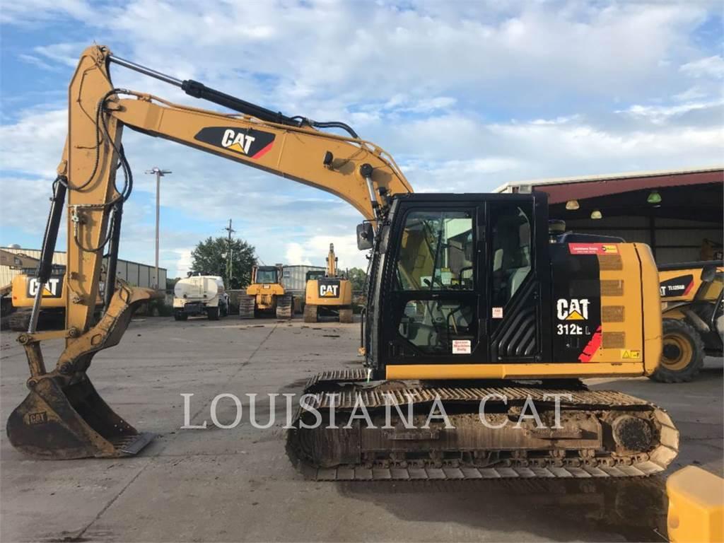 Caterpillar 312EL, Excavadoras de cadenas, Construcción