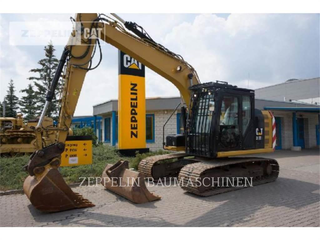 Caterpillar 312EL, Escavadoras de rastos, Equipamentos Construção