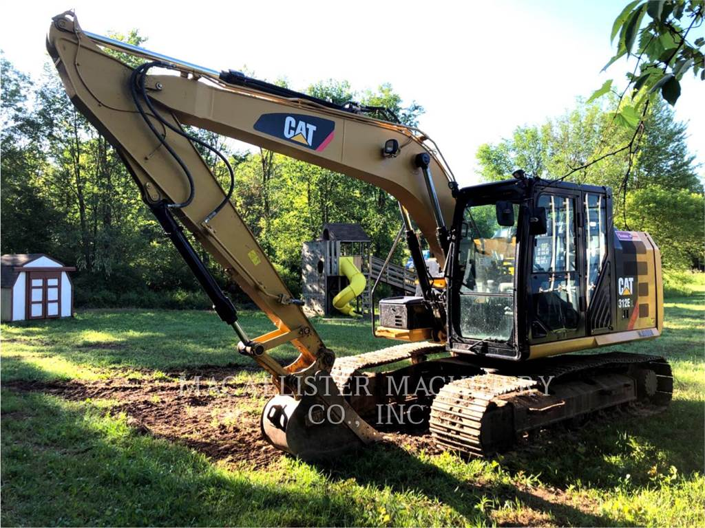 Caterpillar 312EL, Crawler Excavators, Construction