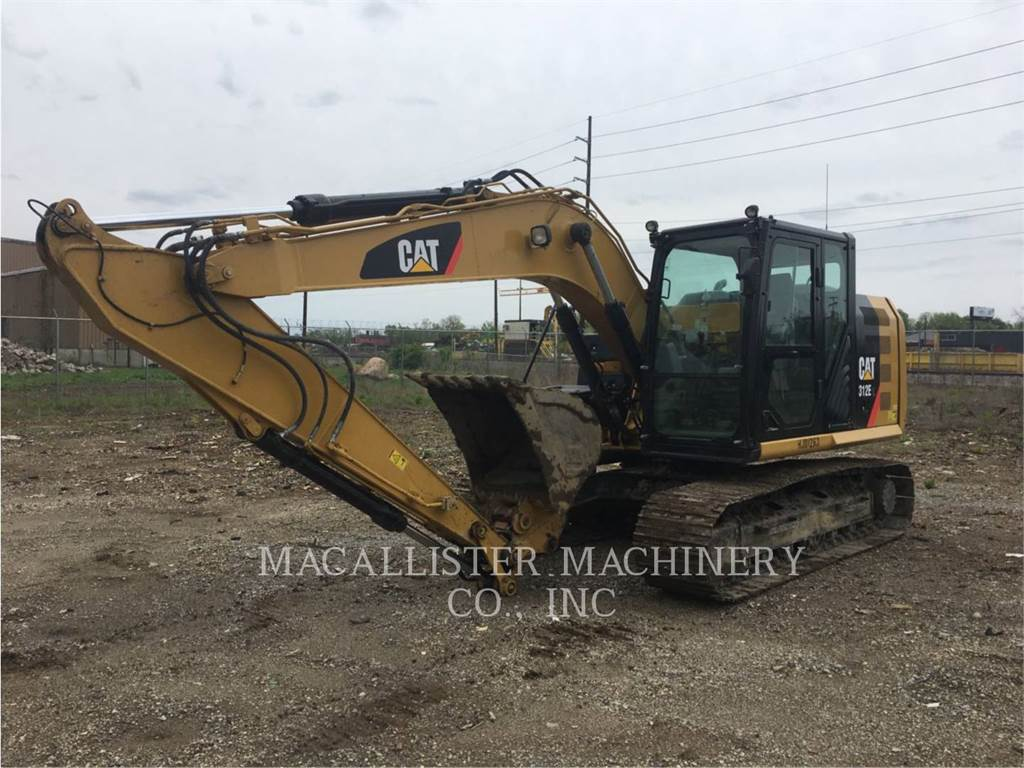 Caterpillar 312EL, Raupenbagger, Bau-Und Bergbauausrüstung