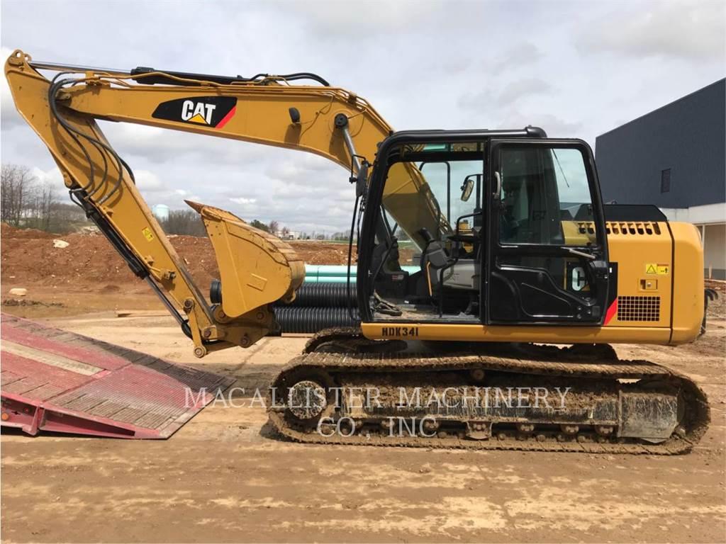 Caterpillar 313 F L GC, Escavatori cingolati, Attrezzature Da Costruzione