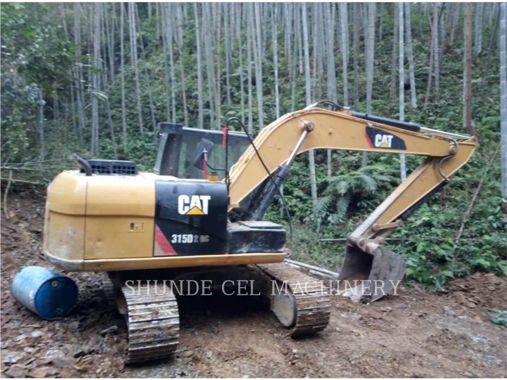 Caterpillar 313D2GC, Excavadoras de cadenas, Construcción
