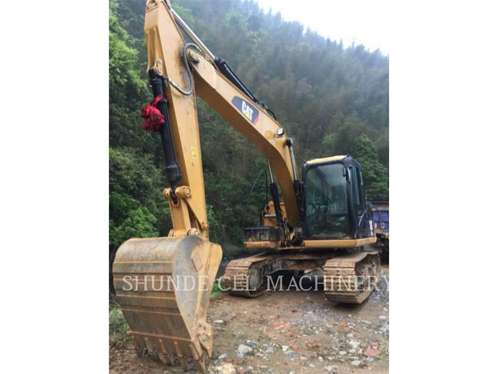 Caterpillar 313D2GC, Crawler Excavators, Construction