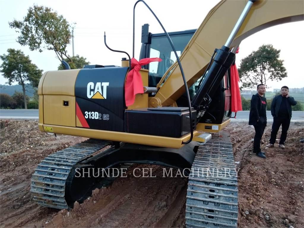 Caterpillar 313D2GC, Pelle sur chenilles, Équipement De Construction