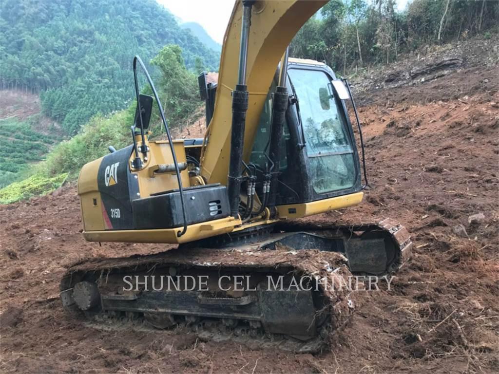 Caterpillar 313D2GC, Raupenbagger, Bau-Und Bergbauausrüstung