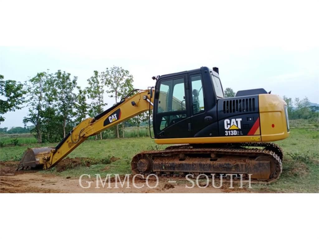 Caterpillar 313D2L, Escavadoras de rastos, Equipamentos Construção