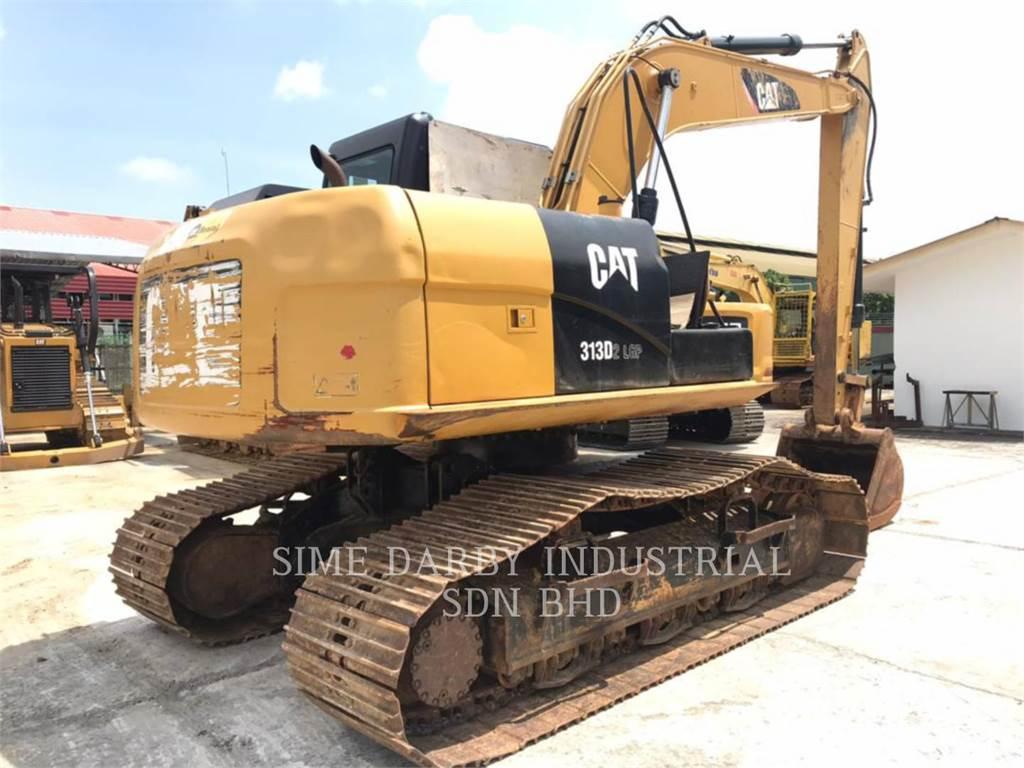 Caterpillar 313D2LGP, Raupenbagger, Bau-Und Bergbauausrüstung