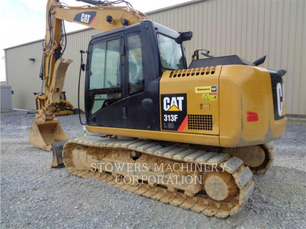 Caterpillar 313F GC, Rupsgraafmachines, Bouw