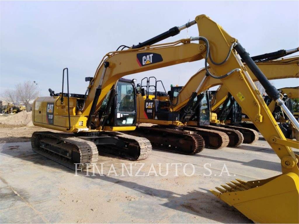 Caterpillar 313F GC, Rupsgraafmachines, Bouw