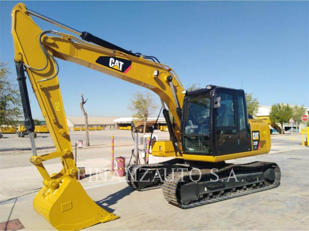 Caterpillar 313F GC, Crawler Excavators, Construction