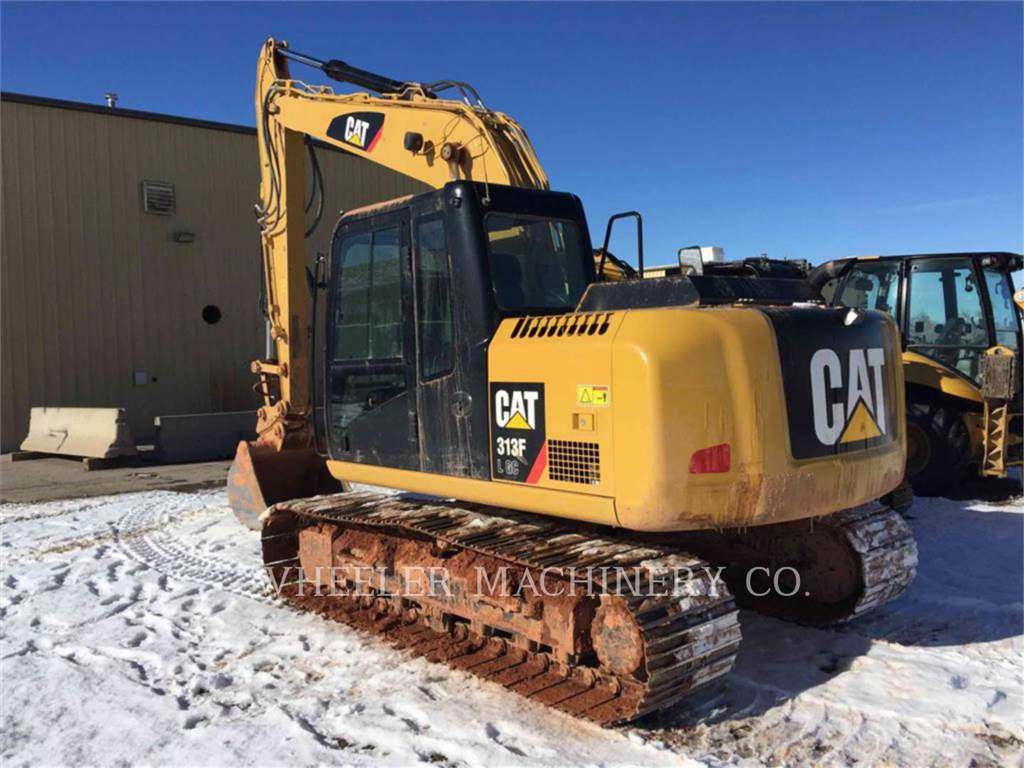 Caterpillar 313F GC CF, Crawler Excavators, Construction