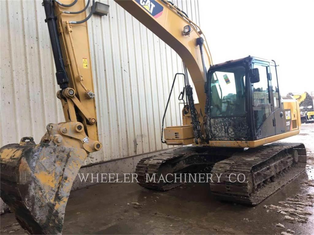 Caterpillar 313F GC CF, Crawler Excavators, Construction
